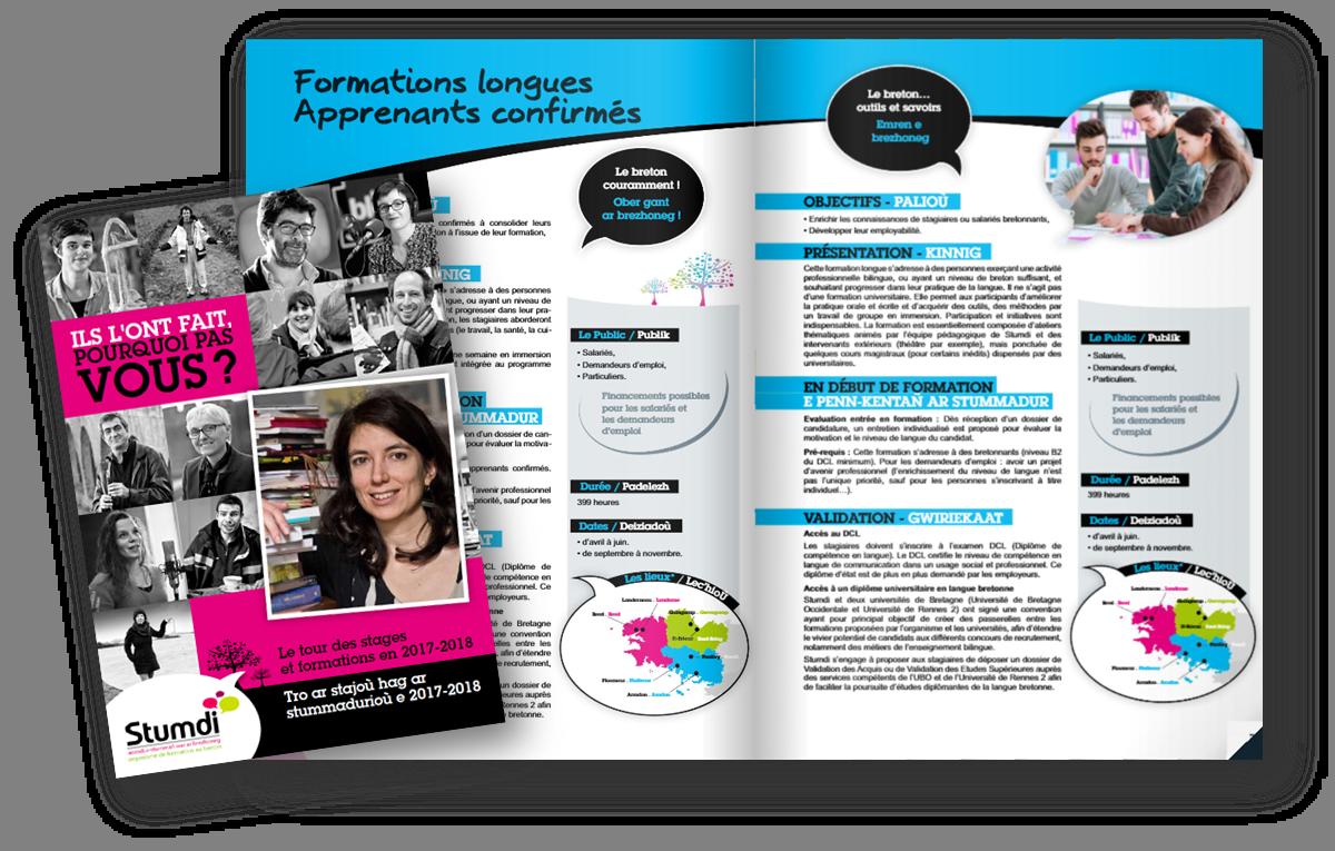 Catalogue 2018 - - Stumdi organisme de formation en langue bretonne