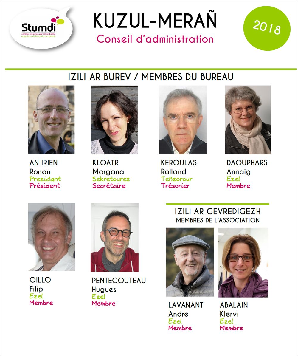 Kuzul-merañ - CA - Stumdi organisme de formation en langue bretonne