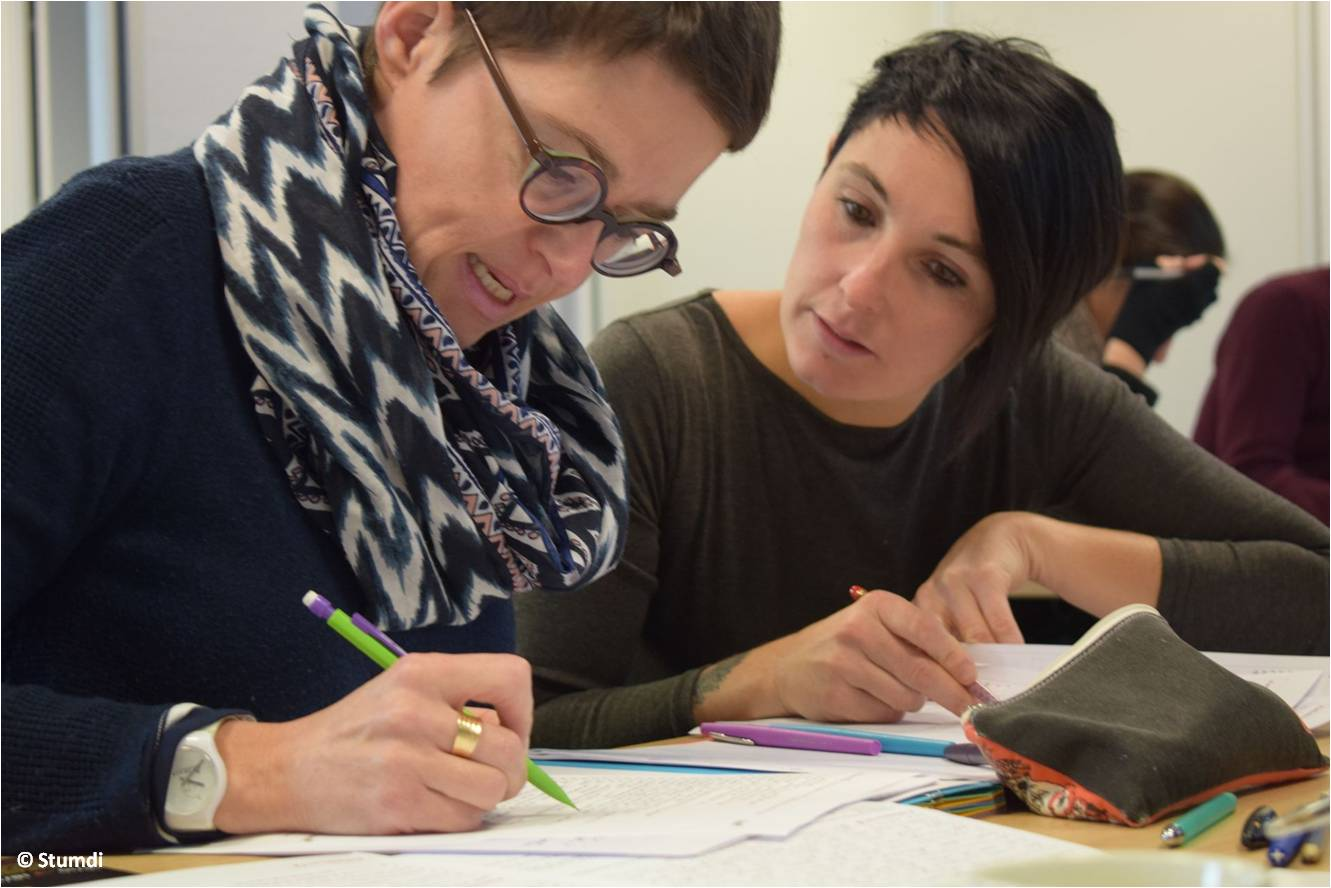 Bezañ en e vleud dre skrid - Stumdi centre de formation en langue bretonne