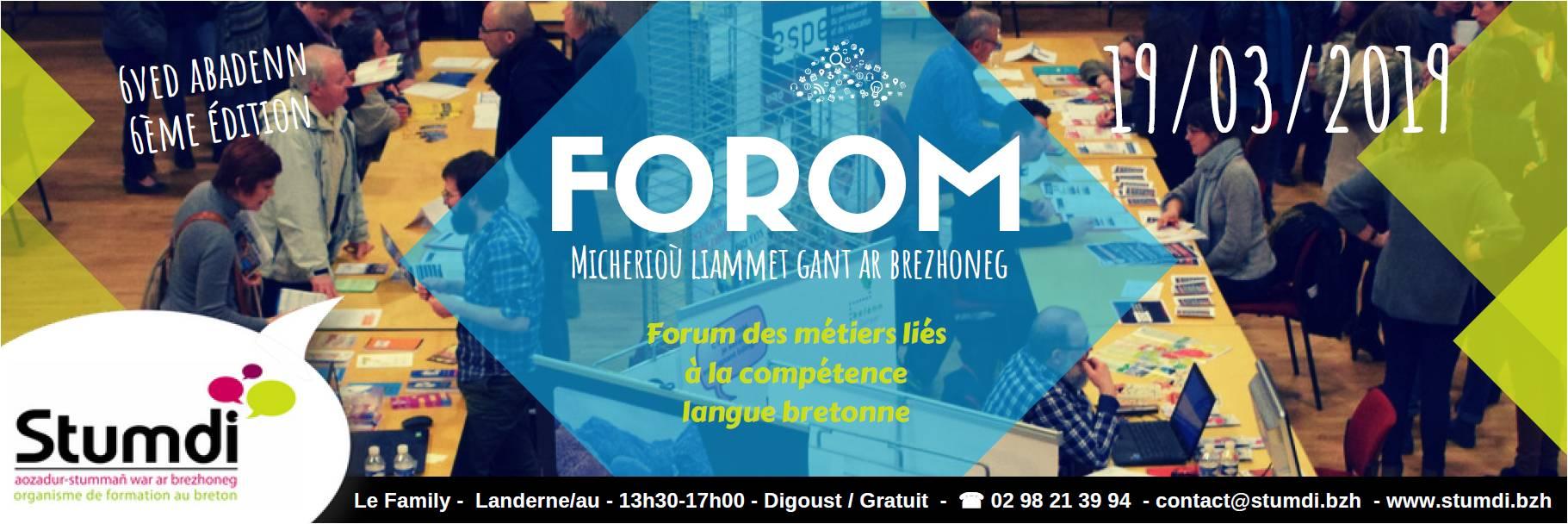 Forom - Centre de formation en langue bretonne Stumci
