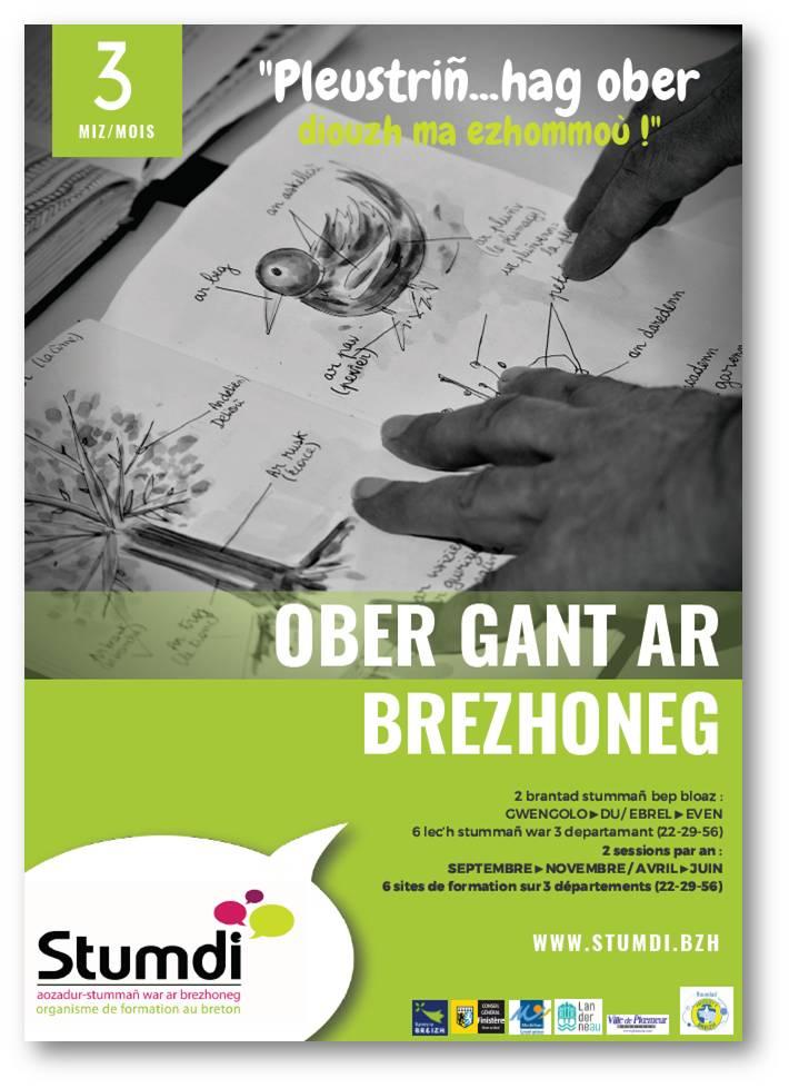Ober gant ar brezhoneg - Stumdi centre de formation en langue bretonne