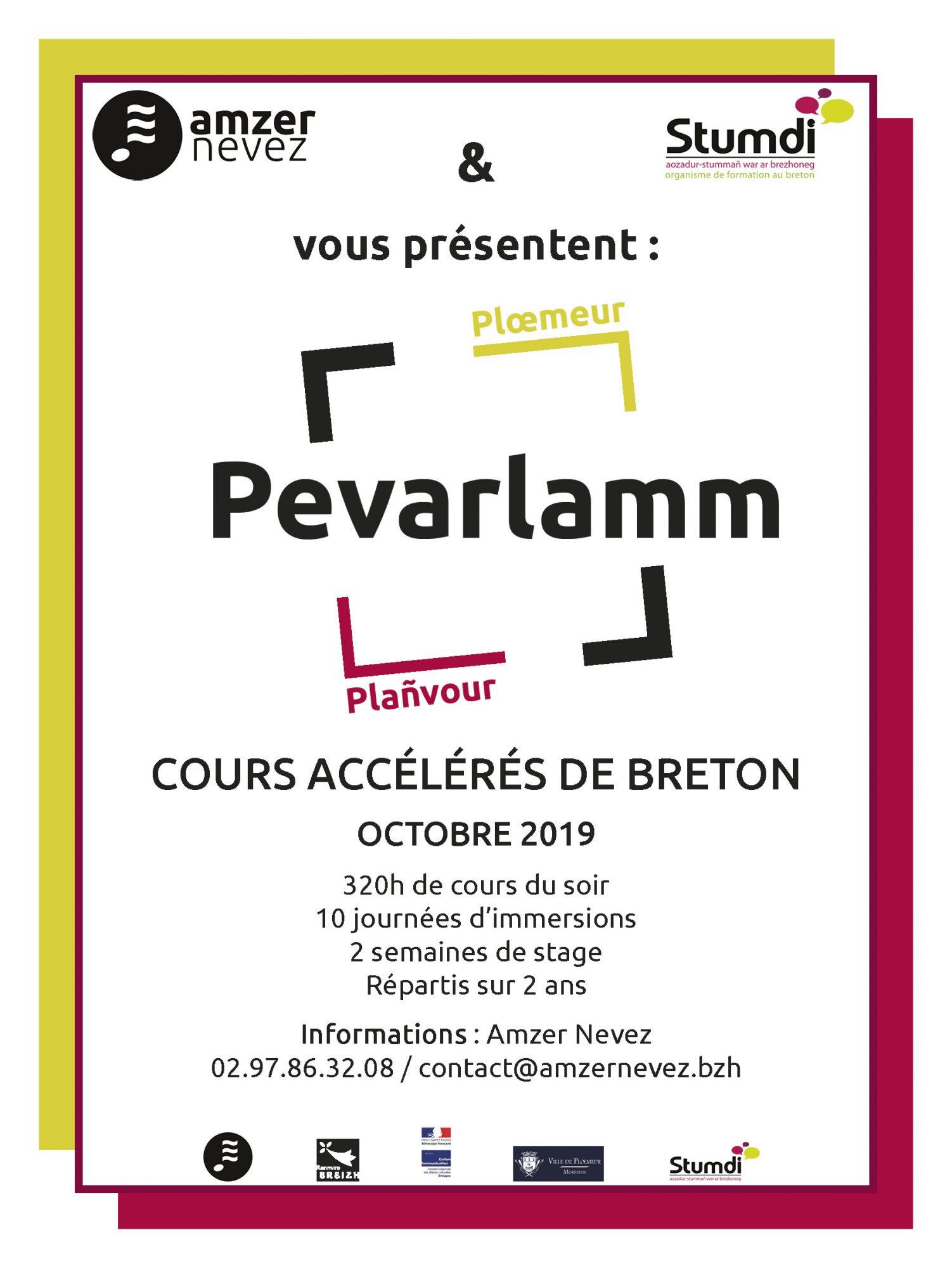 Pevarlamm - Stumdi centre de formation en langue bretonne