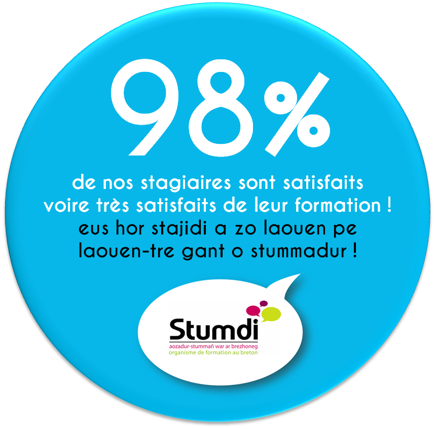 Satisfaction - Stumdi organisme de formation en langue bretonne