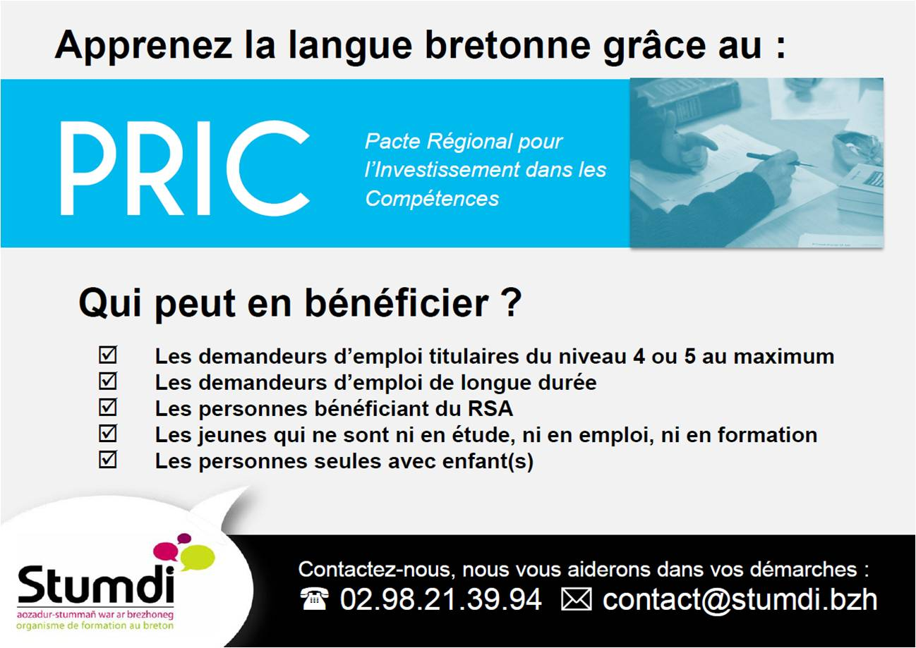 PRIC - Stumdi Centre de formation en langue bretonne