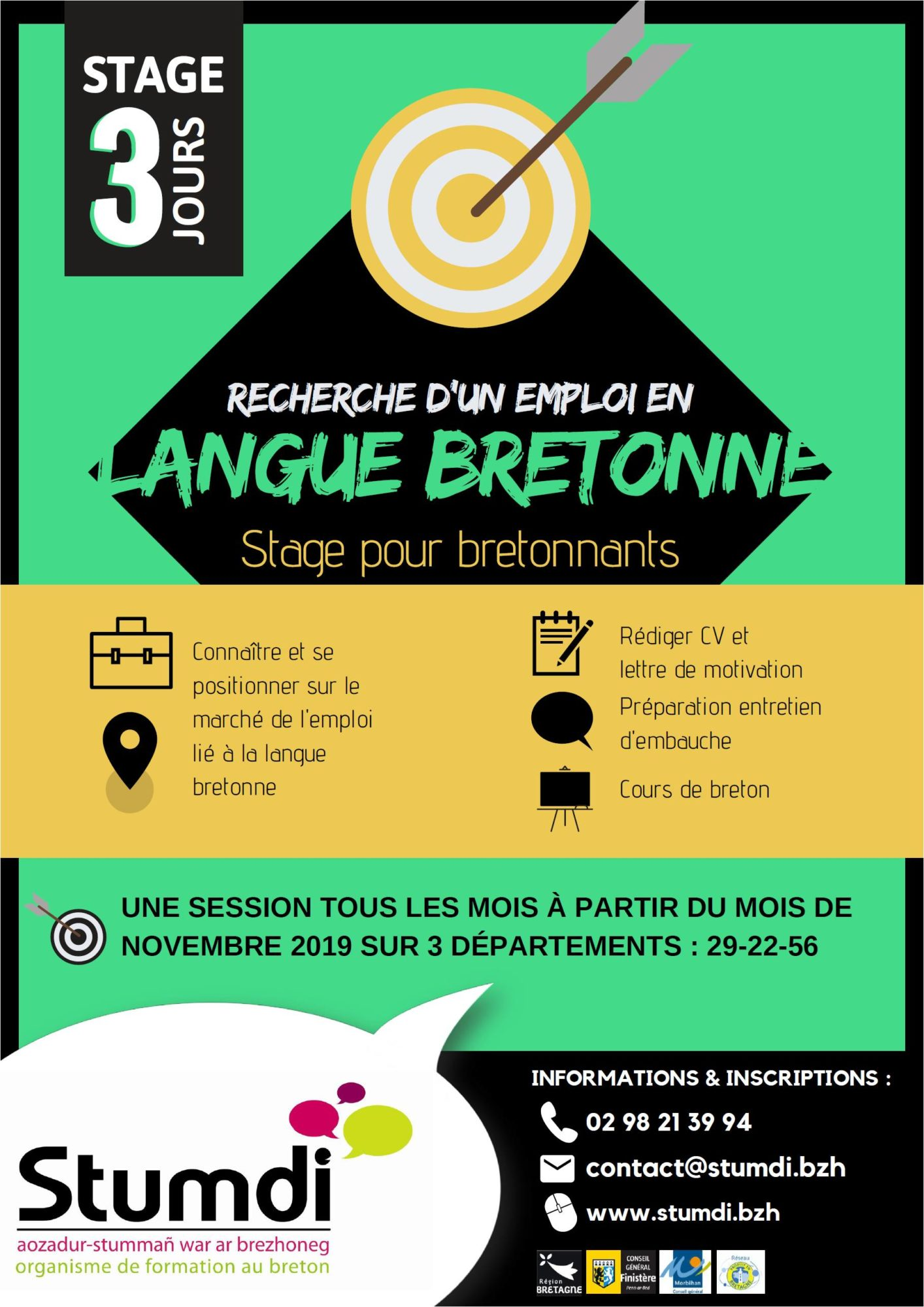 Stumdi centre de formation pour adultes en langue bretonne