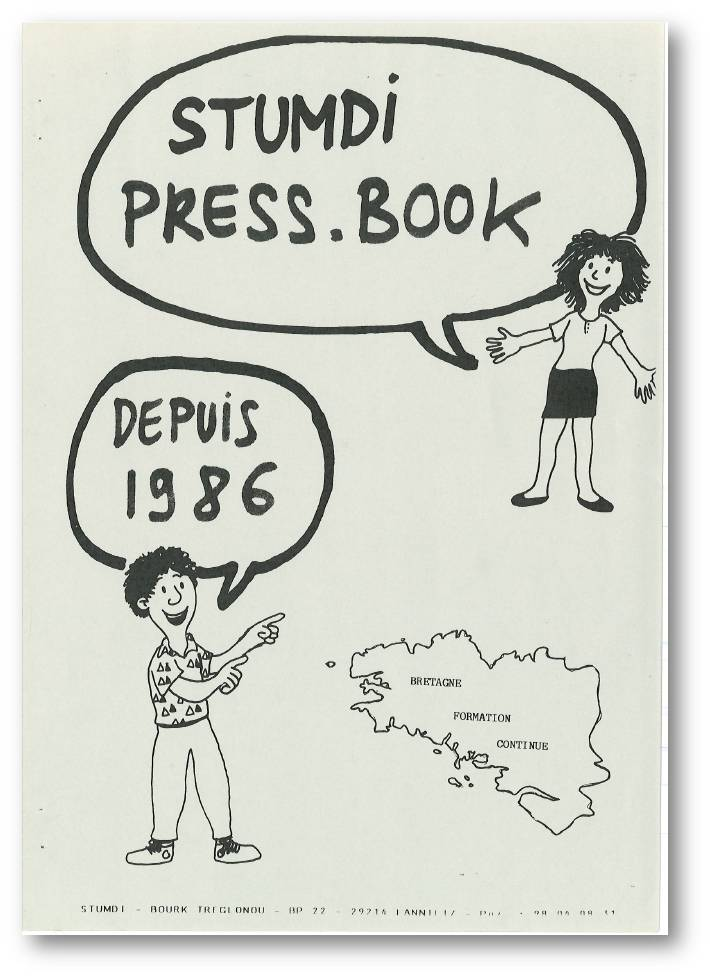 Press-Book-depuis-1986 - Stumdi centre de formation en langue bretonne