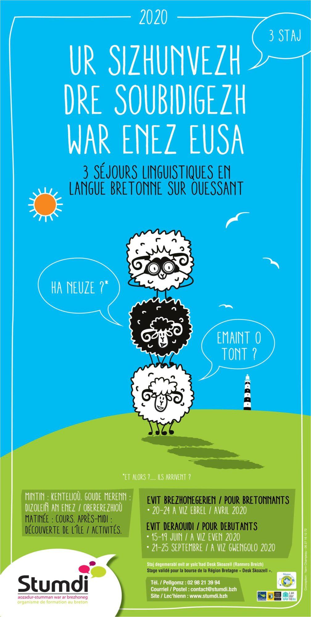 Ouessant - Eusa - Stumdi centre de formation en langue bretonne