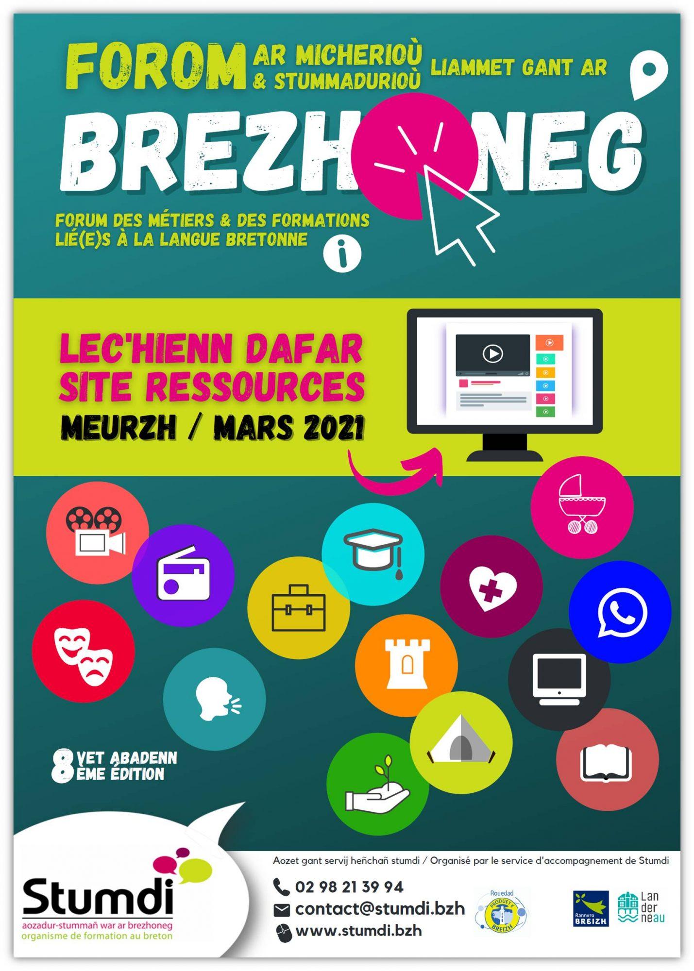 Forum Site internet ressources - Stumdi centre de formation langue bretonne